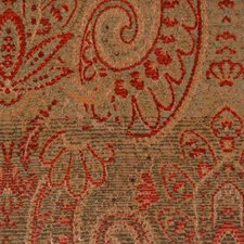 Red/sage Drapery and Upholstery Fabric by Highland Court