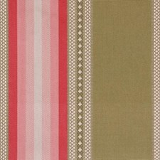 Kiwi/pink Drapery and Upholstery Fabric by Highland Court