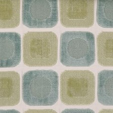 Blue/green Drapery and Upholstery Fabric by Highland Court