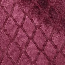Raspberry Diamond Drapery and Upholstery Fabric by Highland Court
