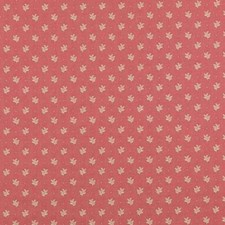 Raspberry Leaf Drapery and Upholstery Fabric by Duralee