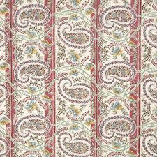 Pomegranate Paisley Drapery and Upholstery Fabric by Fabricut