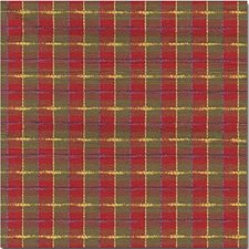 Green/Burgundy/Red Plaid Drapery and Upholstery Fabric by Kravet