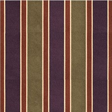 Green/Purple Stripes Drapery and Upholstery Fabric by Kravet