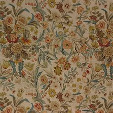 Linen Botanical Drapery and Upholstery Fabric by Lee Jofa