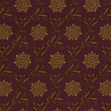 Plum Toile Drapery and Upholstery Fabric by Lee Jofa