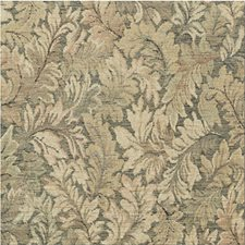 Green Botanical Drapery and Upholstery Fabric by Kravet