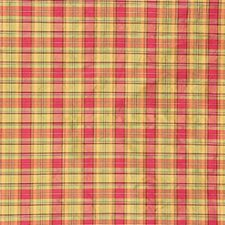Moss/Br Plaid Drapery and Upholstery Fabric by Lee Jofa