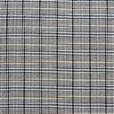 Graphite Plaid Drapery and Upholstery Fabric by Lee Jofa