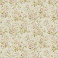 Lilac/Moss Botanical Drapery and Upholstery Fabric by Lee Jofa