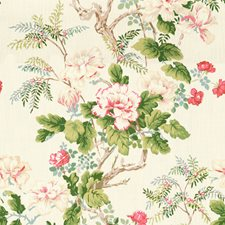 Rose Botanical Drapery and Upholstery Fabric by Lee Jofa