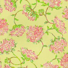 Lush Green Print Drapery and Upholstery Fabric by Lee Jofa