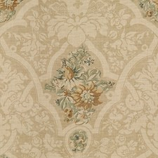 Teal Damask Drapery and Upholstery Fabric by Lee Jofa