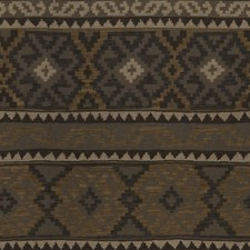 Sable/Pewter Ikat Drapery and Upholstery Fabric by Lee Jofa