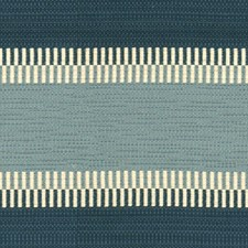 Blue Stripes Drapery and Upholstery Fabric by Lee Jofa