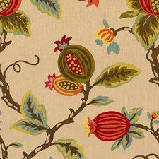 Pumpkin Print Drapery and Upholstery Fabric by Lee Jofa
