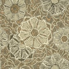 Oyster Botanical Drapery and Upholstery Fabric by Lee Jofa