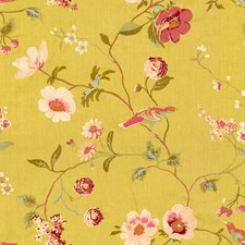 Buttercup Botanical Drapery and Upholstery Fabric by Lee Jofa