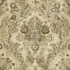 Grey/Bisque Botanical Drapery and Upholstery Fabric by Lee Jofa