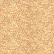 Peach Jacobeans Drapery and Upholstery Fabric by Lee Jofa