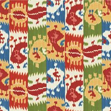 Multi Ikat Drapery and Upholstery Fabric by Lee Jofa