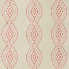Blush Geometric Drapery and Upholstery Fabric by Lee Jofa