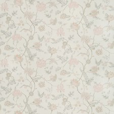 Petal/Stone Botanical Drapery and Upholstery Fabric by Lee Jofa