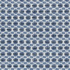 Blue Small Scales Drapery and Upholstery Fabric by Lee Jofa