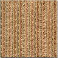 Green/Beige/Rust Modern Drapery and Upholstery Fabric by Kravet