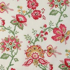 Rose/green Drapery and Upholstery Fabric by Duralee