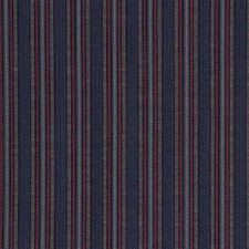 Blue Stripes Drapery and Upholstery Fabric by Kravet