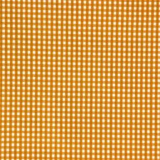 Yellow/Beige Check Drapery and Upholstery Fabric by Kravet