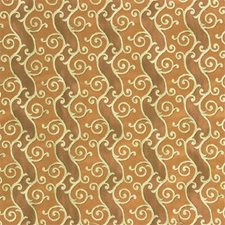 Brown/Beige/Yellow Lattice Drapery and Upholstery Fabric by Kravet