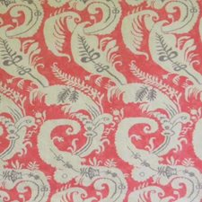 Nantucket Red Drapery and Upholstery Fabric by B. Berger