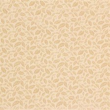 Yellow/Beige Botanical Drapery and Upholstery Fabric by Kravet