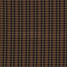 Beige/Blue/Burgundy Plaid Drapery and Upholstery Fabric by Kravet