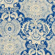 Federal Blue Drapery and Upholstery Fabric by Robert Allen