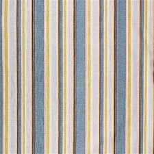 Azure/Wine Stripes Drapery and Upholstery Fabric by Lee Jofa