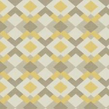 Sunflower Geometric Drapery and Upholstery Fabric by Fabricut
