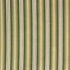 White/Green Stripes Drapery and Upholstery Fabric by Kravet