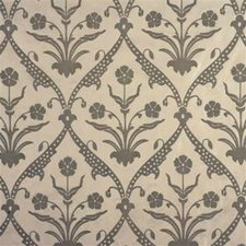 Aqua Print Drapery and Upholstery Fabric by Groundworks
