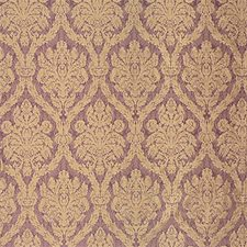 Purple/Yellow Damask Drapery and Upholstery Fabric by Kravet