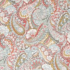 Coral Drapery and Upholstery Fabric by Robert Allen /Duralee