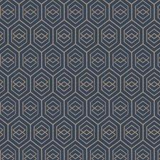 Cadet Geometric Drapery and Upholstery Fabric by Fabricut