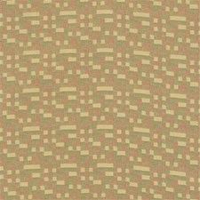Yellow/Green/Rust Check Drapery and Upholstery Fabric by Kravet