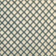 Blue On Beige Drapery and Upholstery Fabric by Scalamandre