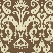 Beige/Brown Ikat Drapery and Upholstery Fabric by Kravet