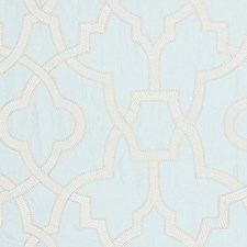Blue Mist Drapery and Upholstery Fabric by Scalamandre