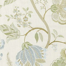 Summer Sage Drapery and Upholstery Fabric by Scalamandre