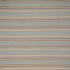 Beige/Light Blue/Brown Stripes Drapery and Upholstery Fabric by Kravet